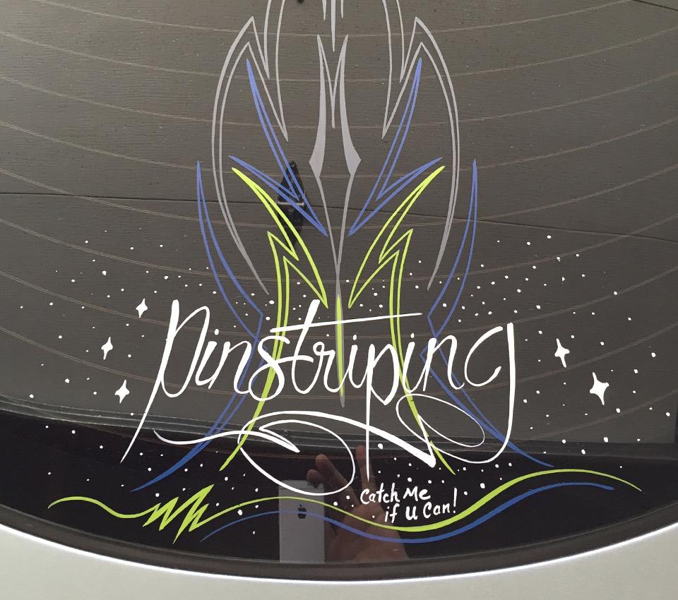 Pinstriping By Mark